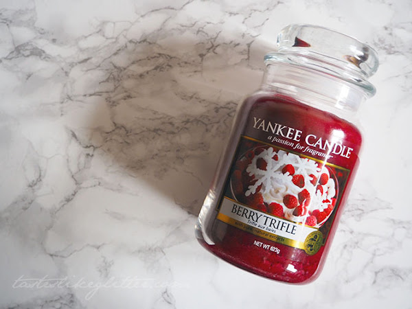 Yankee Candle -  Berry Trifle.