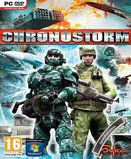 Chronostorm: Siberian Strike Cover, Poster