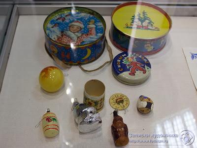 Старые елочные игрушки
