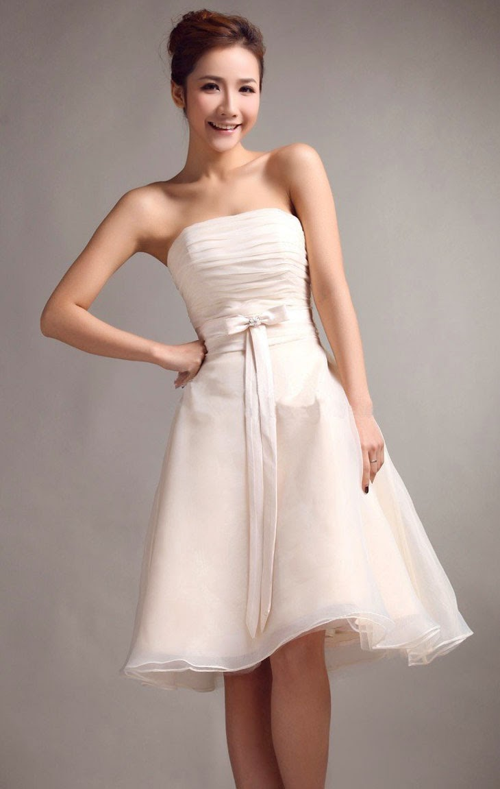 Cheap Short White Wedding Dresses Design Ideas Photos HD