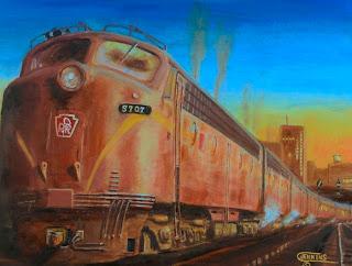 Железнодорожные картины