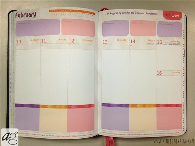 Belle De Jour Power Planner 2014 Weekly Calendar