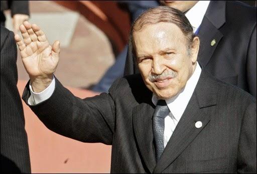 """فوز الرئيس الجزائرى """"عبدالعزيز بوتفليقة """" بنتيجة الانتخابات الرئاسية فى الجزائر 2014"""