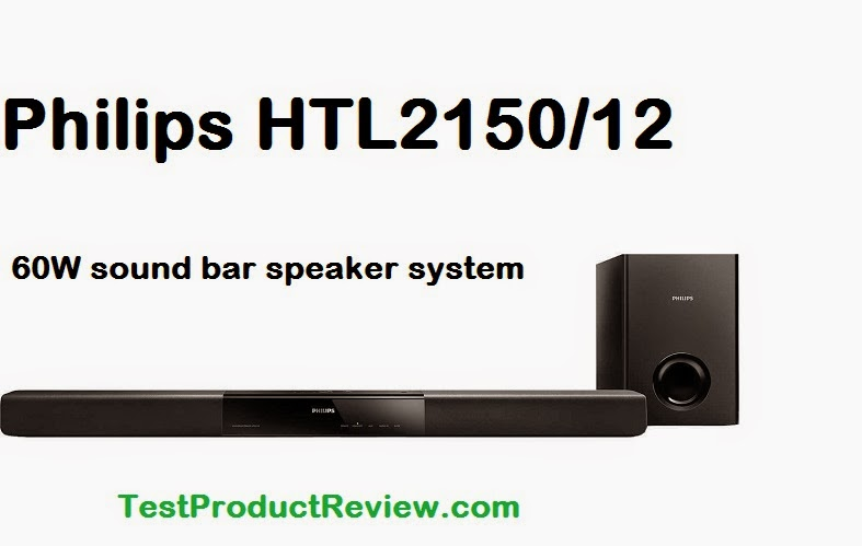 Philips HTL2150/12 specs