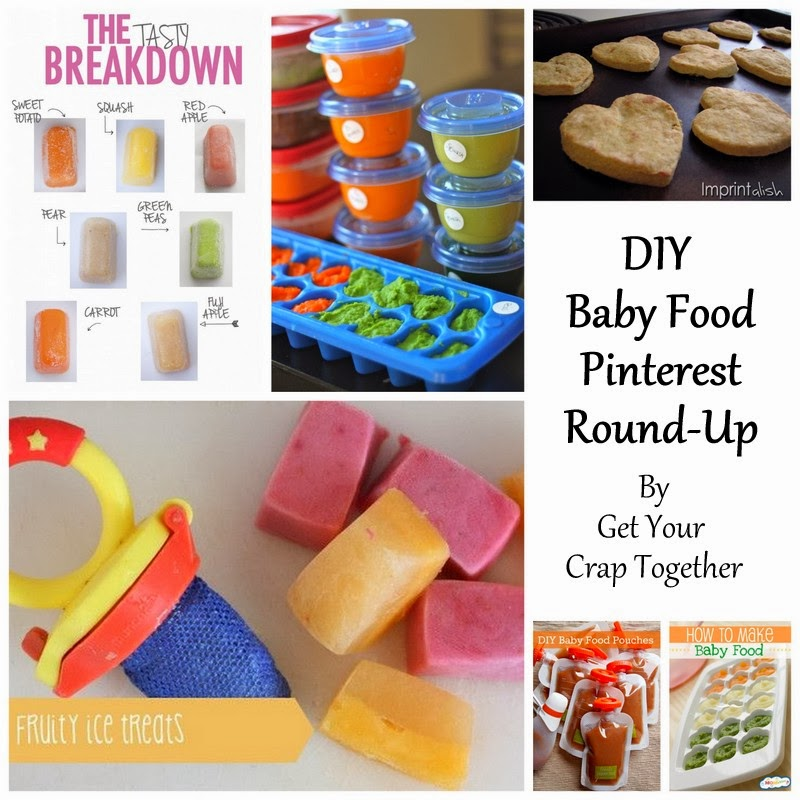 DIY Baby Food Pinterest Round Up