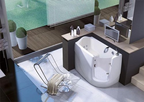Ideas For Small Bathroom Design Space Saving Bathtub Home Ideas - Space saving ideas for small bathrooms