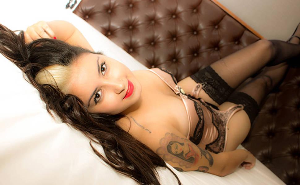 ... Benvenutti, a Bruna Surfistinha de São Carlos nua / pelada na Playboy