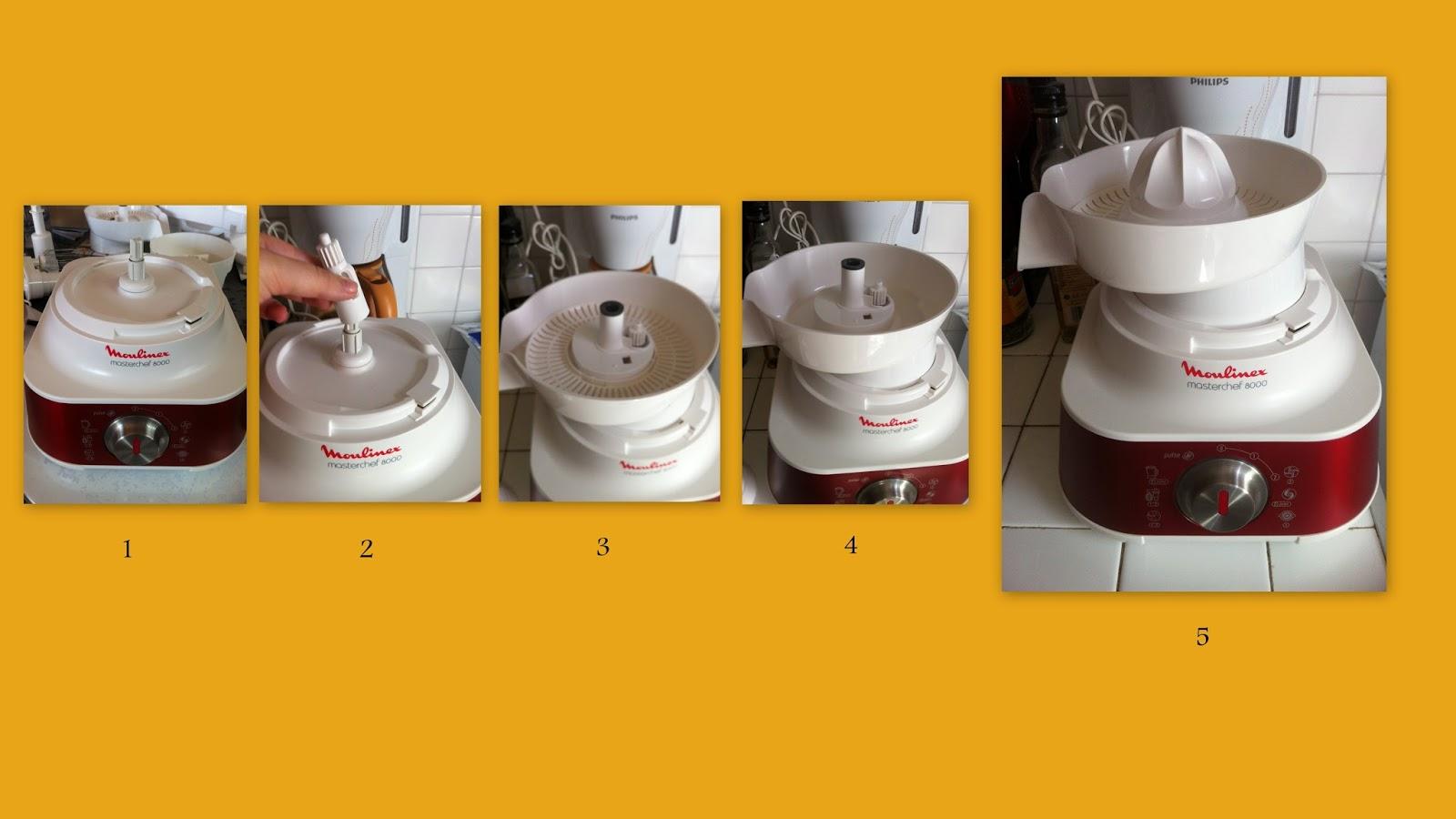 Moulinex masterchef 8000 centrifugeuse