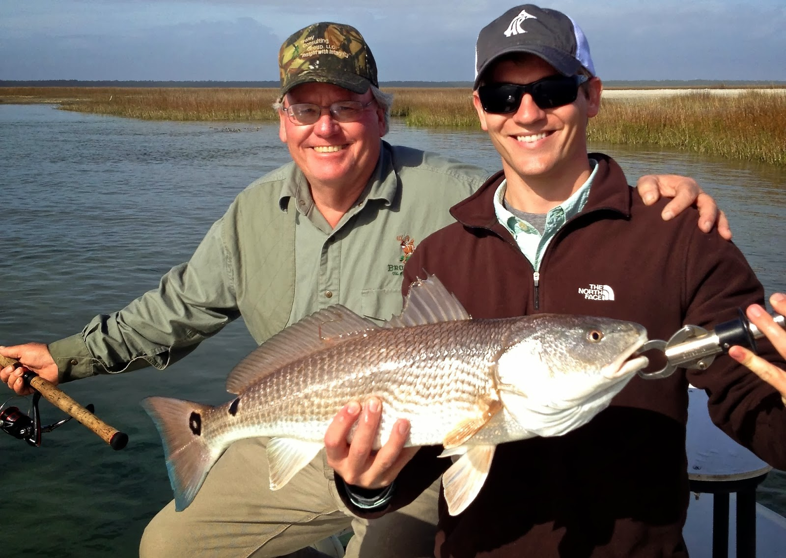 Myrtle beach fishing report cold weather hot redfish bite for Fishing report myrtle beach