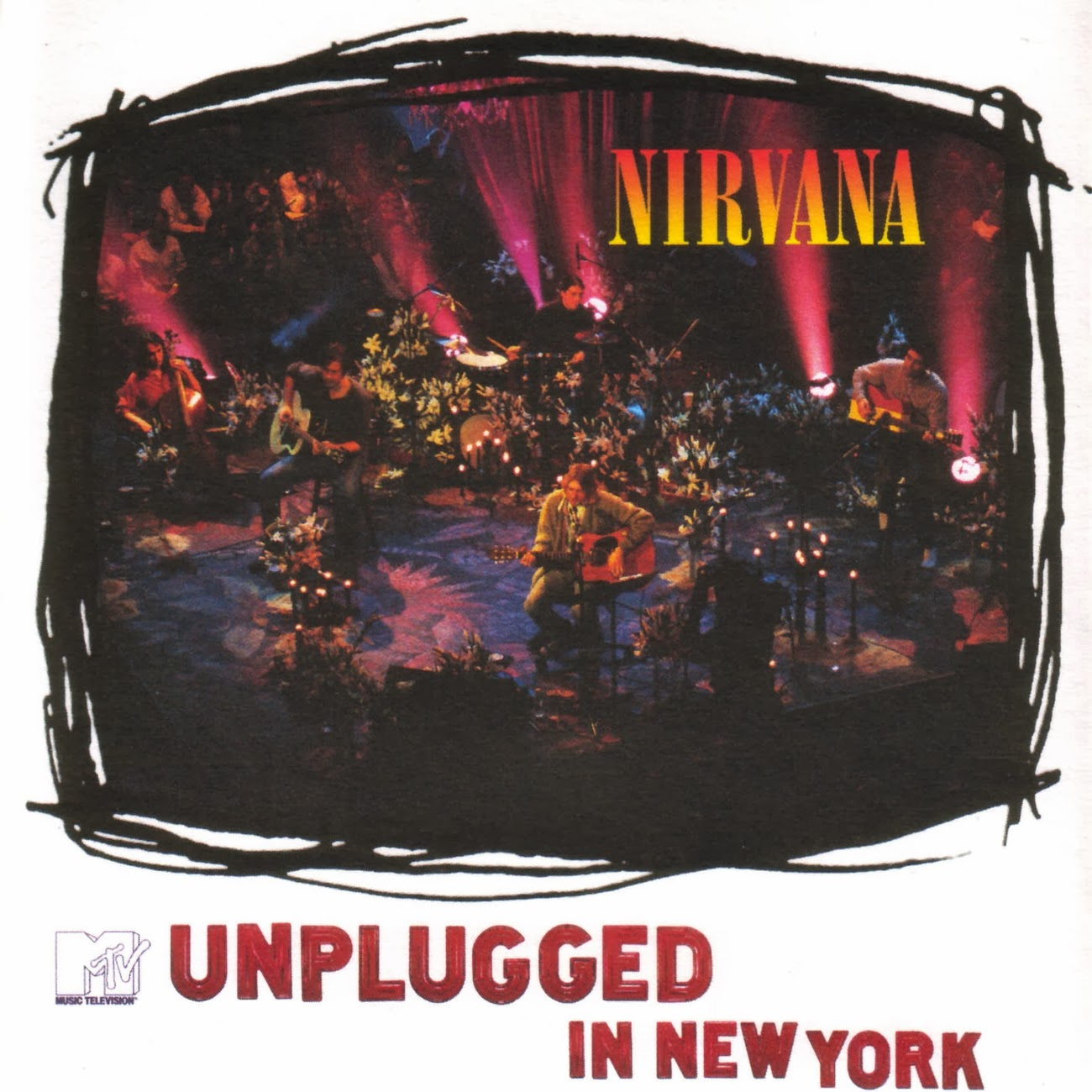 Nirvana - MTV Unplugged In New York (1994) - 90's Rock
