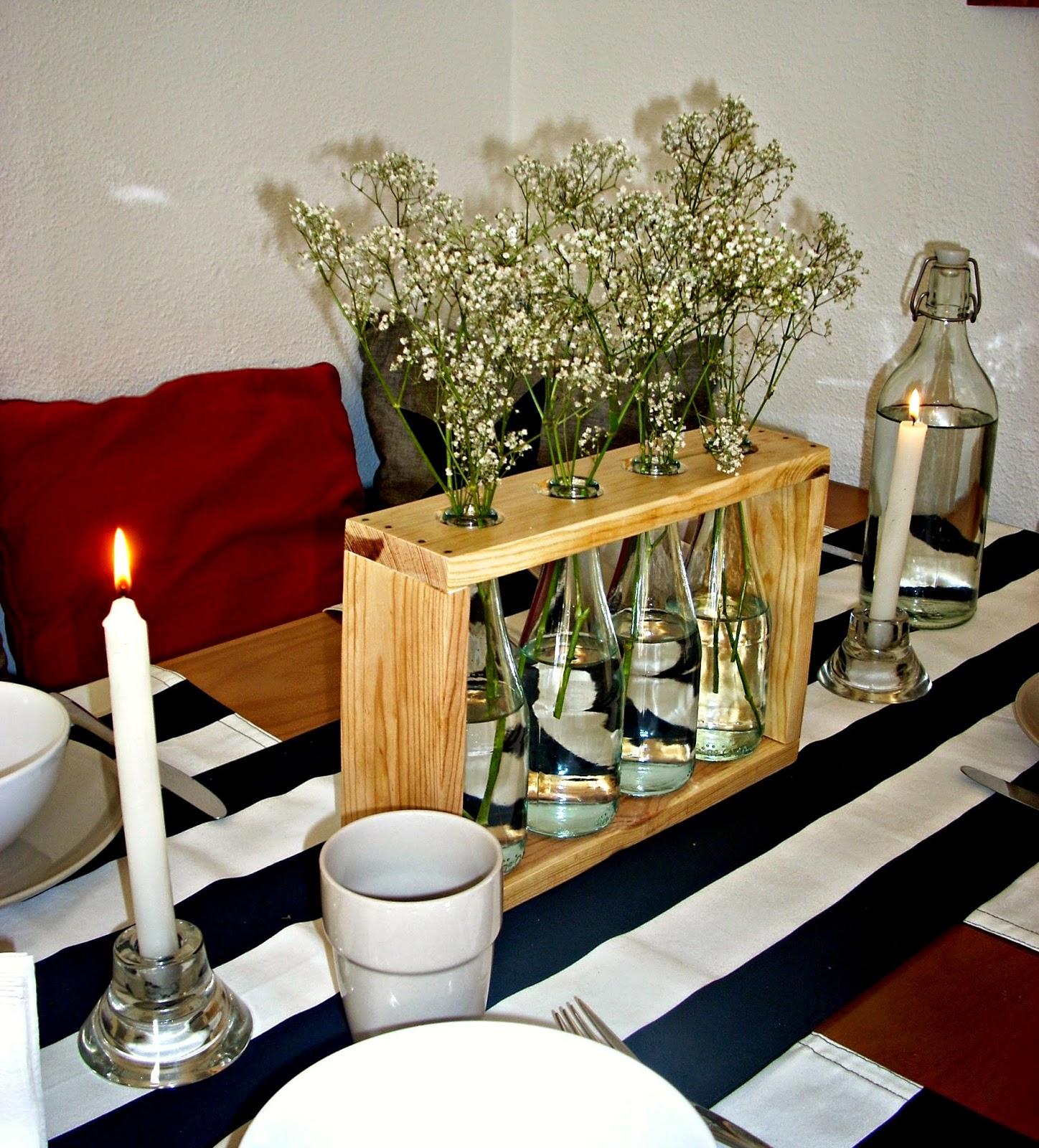 La buhardilla decoraci n dise o y muebles un precioso - Decorar botellas de vidrio ...