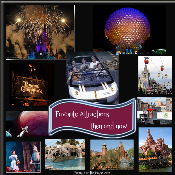 Favorite Disney World Attractions