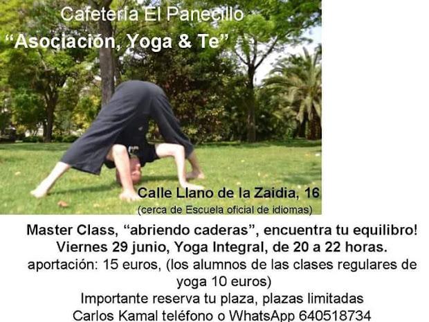 máster class yoga integral