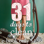 31 Days to Clean Ebook
