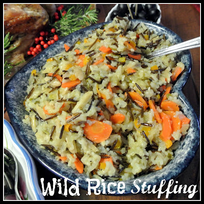 Mom, What's For Dinner?: Wild Rice Stuffing