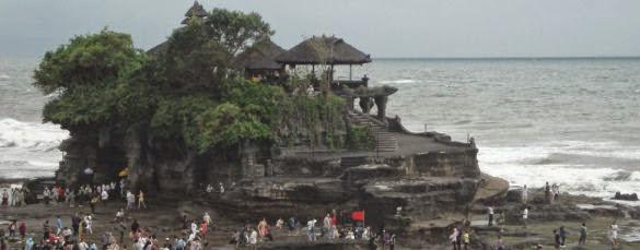 Tanah Lot Sea Temple - Tanah Lot, Hindu, Sea Temple, Bali, Shrine, Sunset, Beraban, Tabanan, Pura