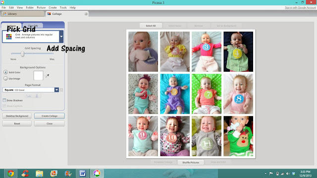 Baby Photos & FREE Monthly Baby Stickers