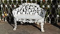 WROUGHT IRON SOFA IN TRINIDAD