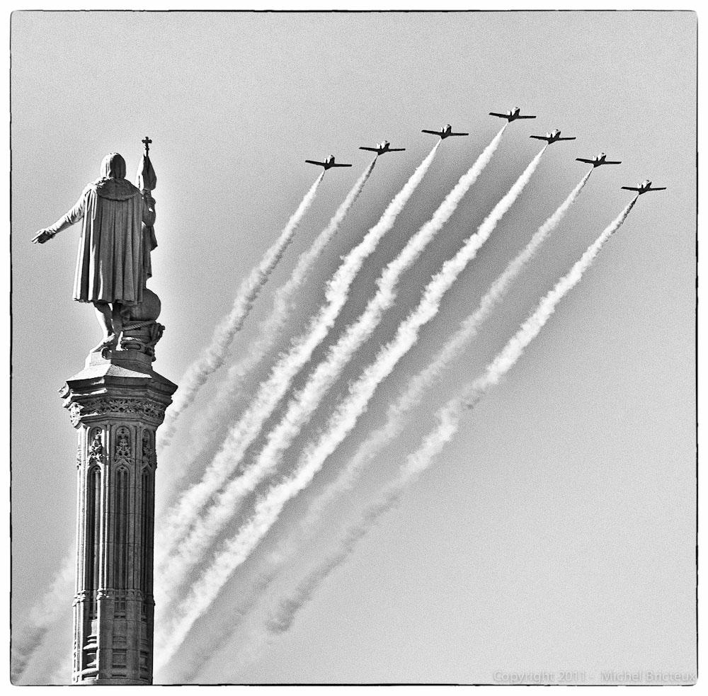 Cristóbal y los aviones