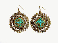Boho style earrings by Chipina - Chipina Jewelry