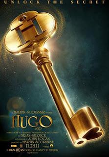 Cartel de la película Hugo, de Martin Scorsese, en 3D