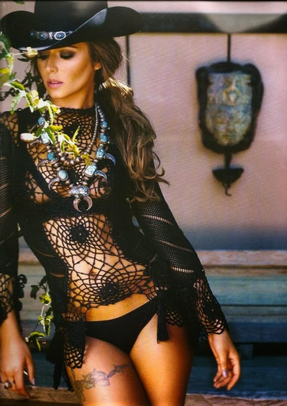 Cheryl Cole For Official Calendar 2014