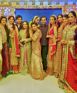 Good morning Pakistan bridal fashion week 2013 images