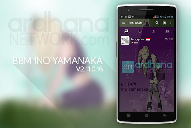 BBM Ino Yamanaka - BBM Android V2.11.0.16