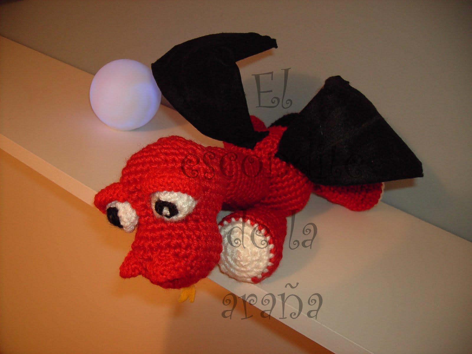 Amigurumi Dragonfly : El escondite de la ara�a abr