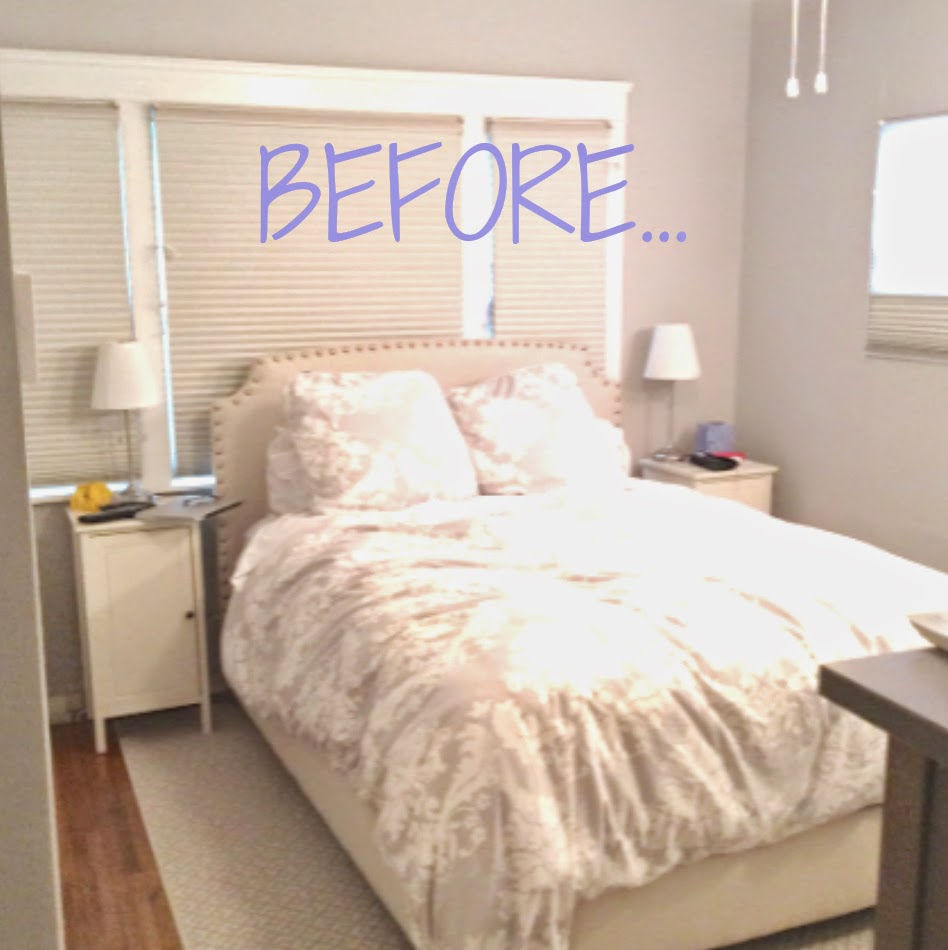 Rosa beltran design larchmont bungalow tour part 1 for Bed placement in small room