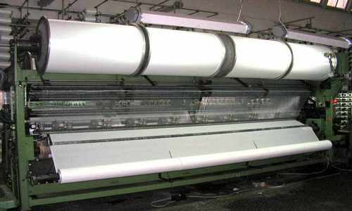 Fabric Knitting Process : Tricot warp knitting machine working process of