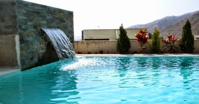 Piscinas temperadas como temperar el agua de una piscina - Fuentes para piscinas ...