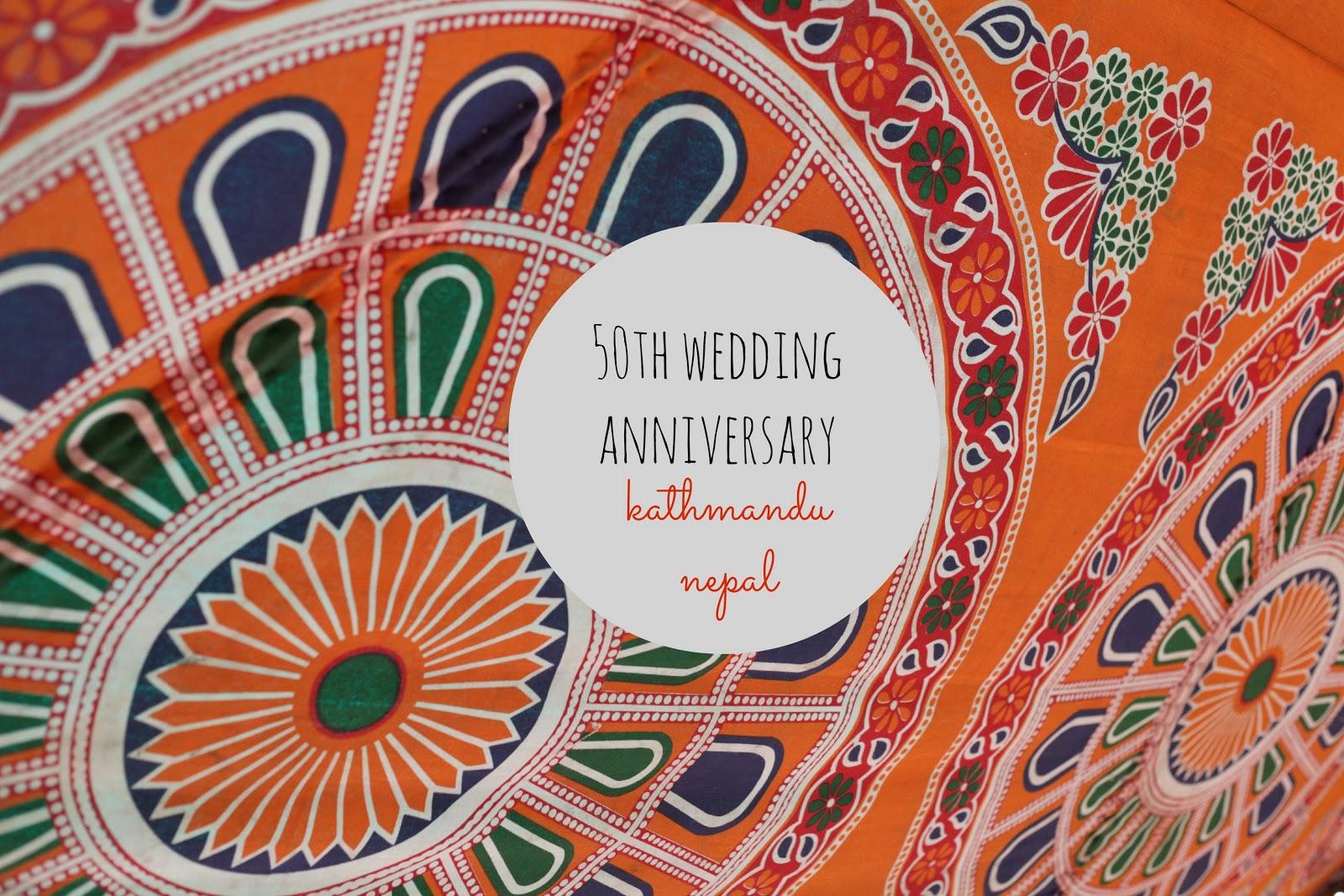Hope engaged a th wedding anniversary nepali style