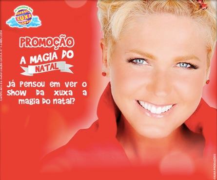 Participar promoção A Magia do Natal Parque Mundo da Xuxa