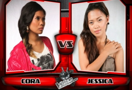 Cora dela Cruz vs Jessica Corpuz | The Voice of the Philippines Battle Rounds