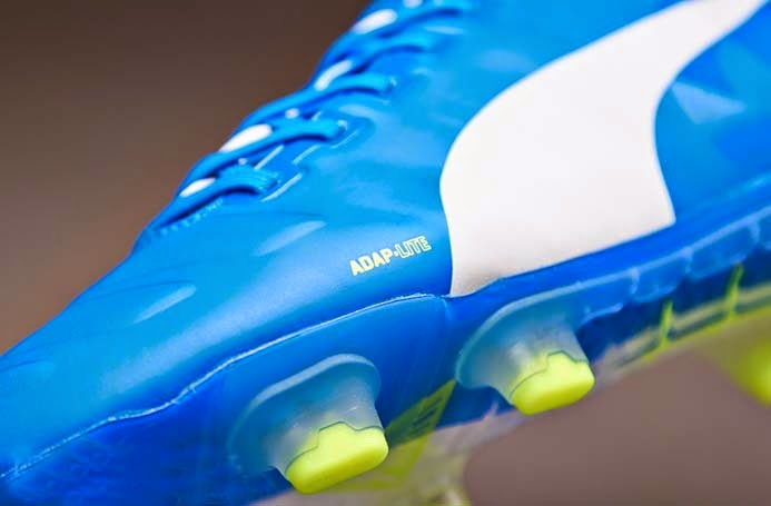 Puma evoPOWER1 FG Cesc Fabregas Football Boots with Blue and White colors