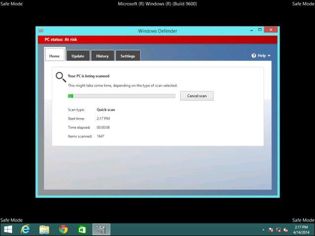 Cách quét và sửa lỗi cho Windows từ bên ngoài 2