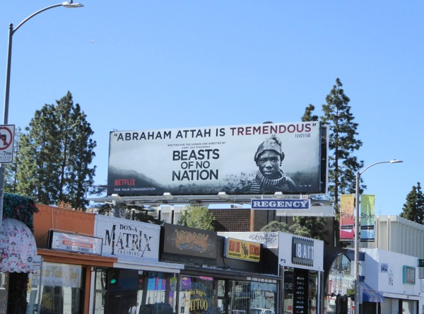 Beasts of No Nation For your consideration billboard