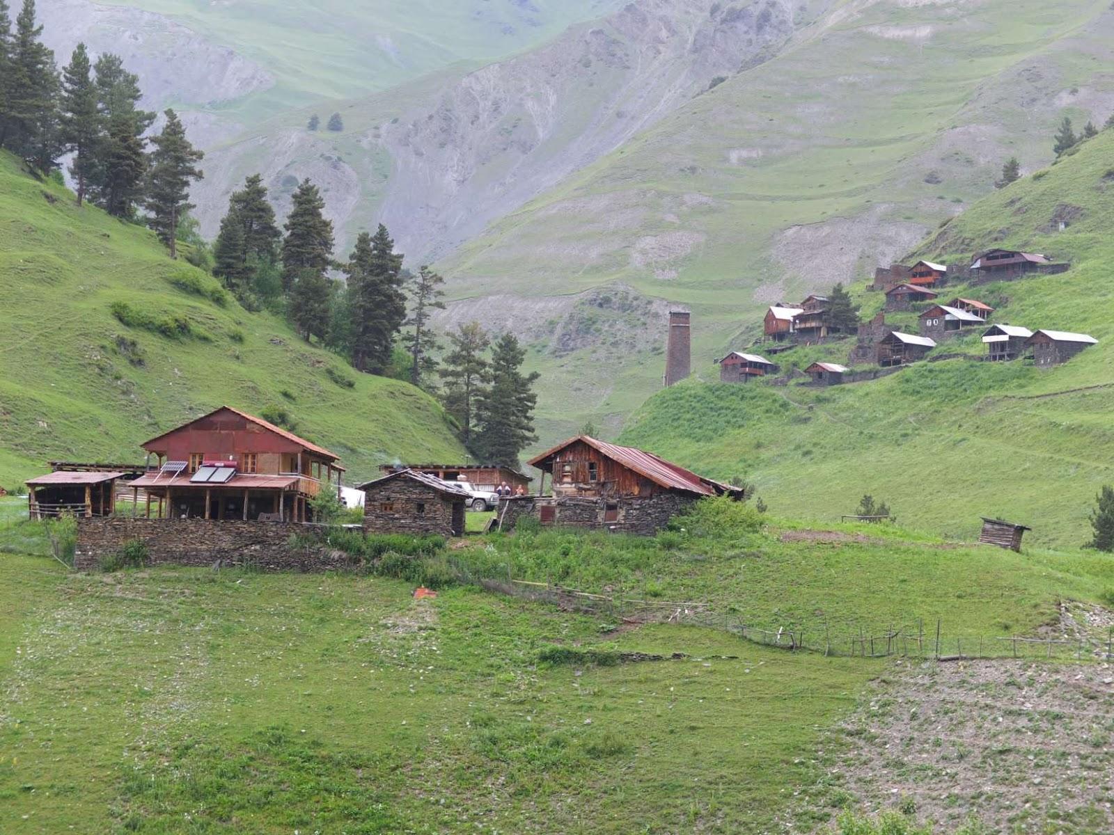 tusheti places to stay in tusheti