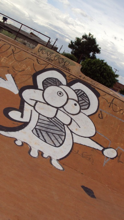 personagem graffiti