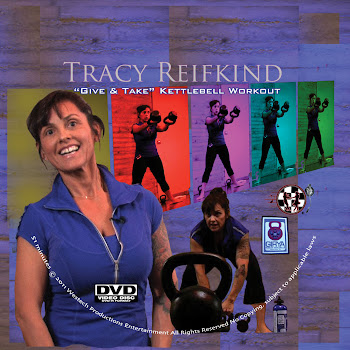 "Tracy&#39;s ""Give and Take&#39; DVD"