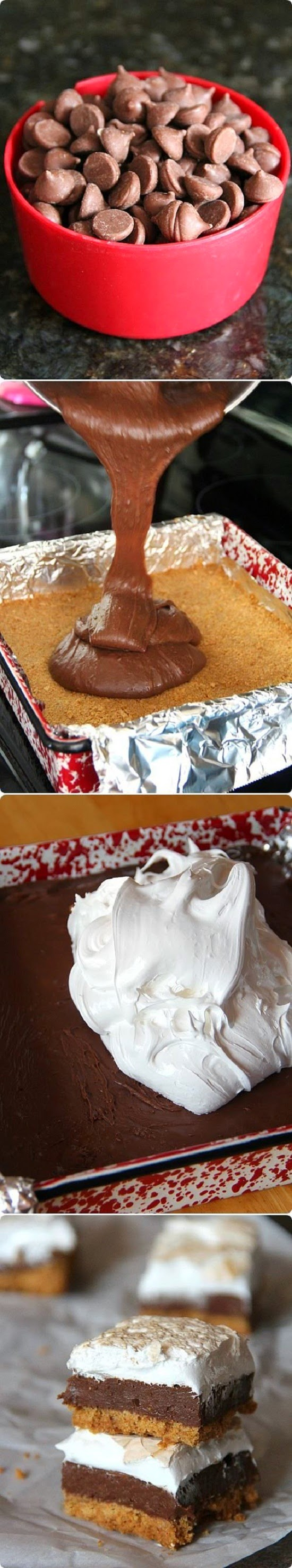 How To Make Smores Fudge Bars