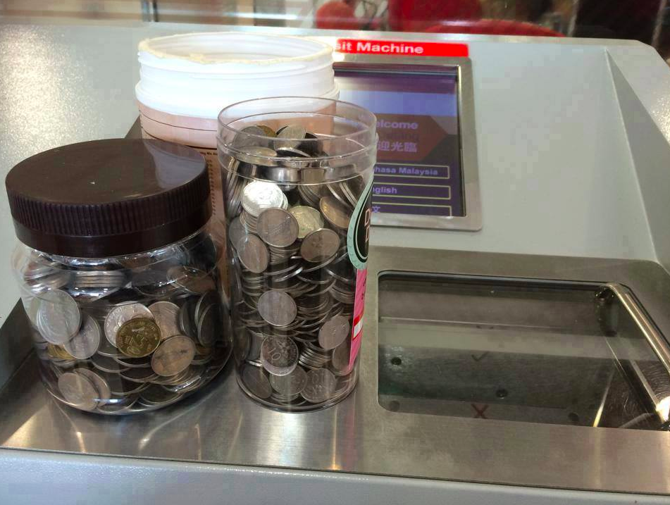 coins for machine locations
