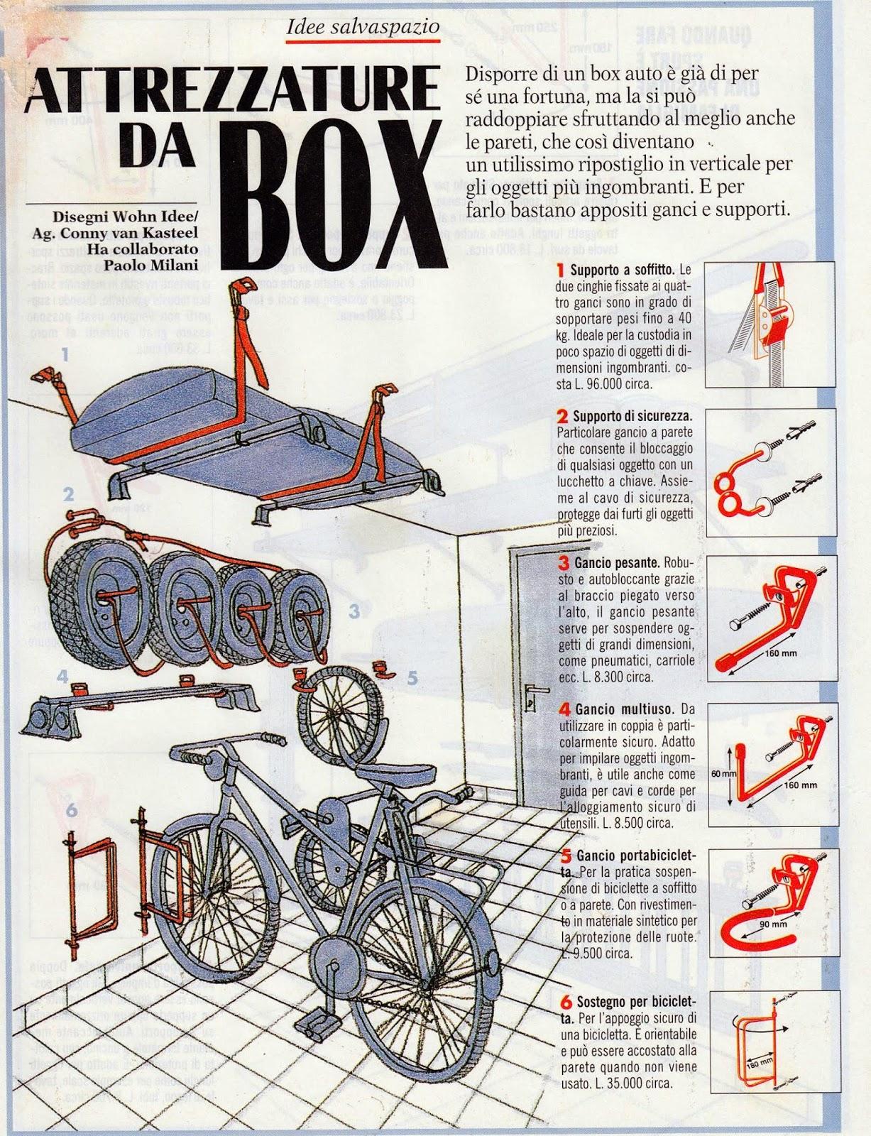 Boiserie c come attrezzare box e garages for Idee di garage per auto