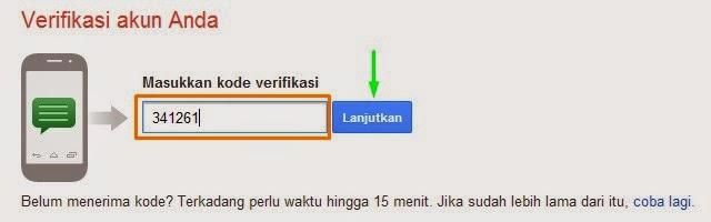 verifikasi Gmail