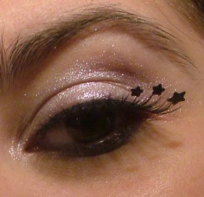 faux cils faux-cils etsy originaux excentriques eyelashes lashes star étoiles