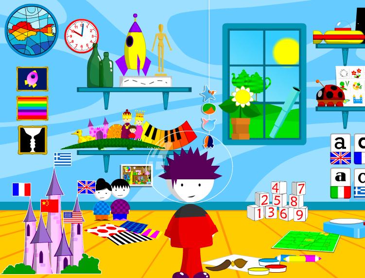 SMARTY GAMES : contiene vari giochi semplici ma in lingua inglese ...