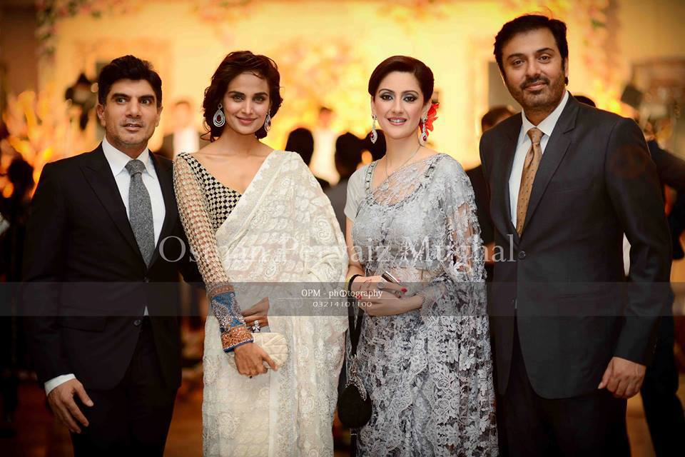 Celebrity Weddings: Nouman Ejaz wife Rabia
