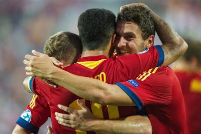 Spanyol Rebut Gelar Piala Eropah U-21