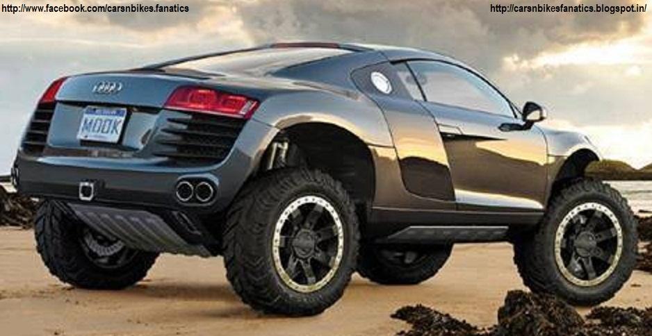 Car Bike Fanatics Audi Monster Truck